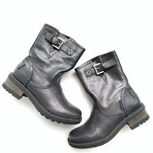 NWOB Steve Madden JOESIE black boots